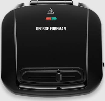 George Foreman 24340-56 New Non-Stick Coated Plates Grill