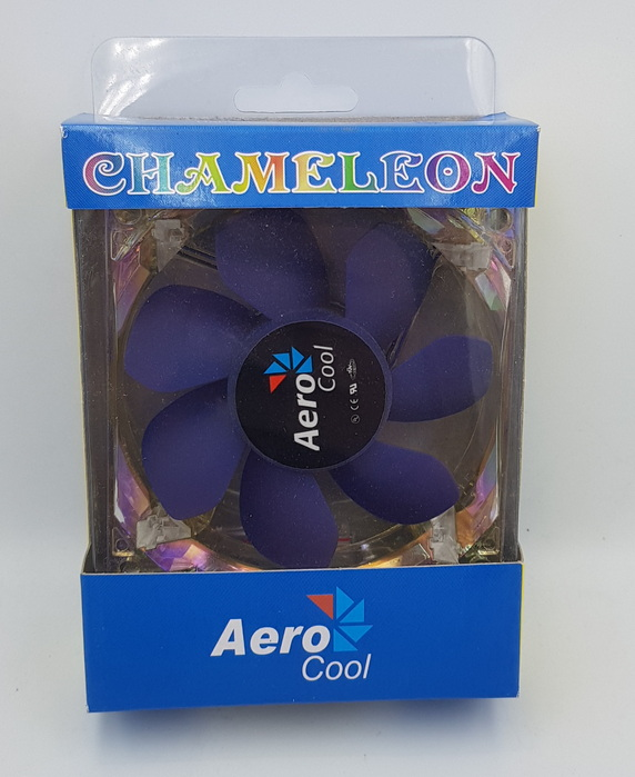 Aero Cool Chamelon Wamer to Cooler PC Fan Pc Fan New Yes 80mm